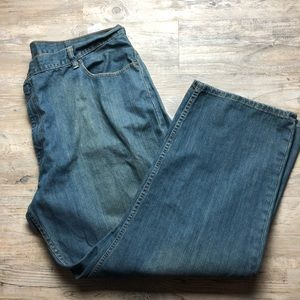 Levi's 559 relaxed slim slight distressed color